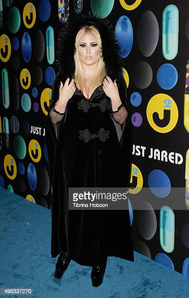 Hayley Hasselhoff attends the Just Jared Halloween Party at No Vacancy on October 31 2015 in Los Angeles California