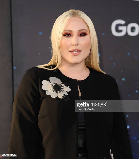 Hayley Hasselhoff attends the premiere of Guardians of the Galaxy Vol 2 at Dolby Theatre on April 19 2017 in Hollywood California