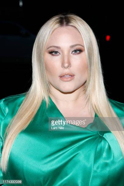 Hayley Hasselhoff attends Tiffany Panhilason's NYFW Fundraising Event For Mentari on September 12 2019 in New York City