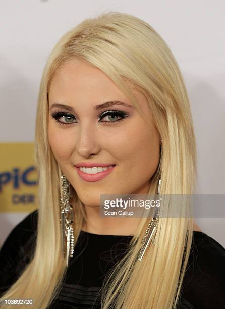 Hayley Hasselhoff daughter of actor David Hasselhoff and who is in a band called Bella Vida attends The Dome 55 on August 27 2010 in Hannover Germany