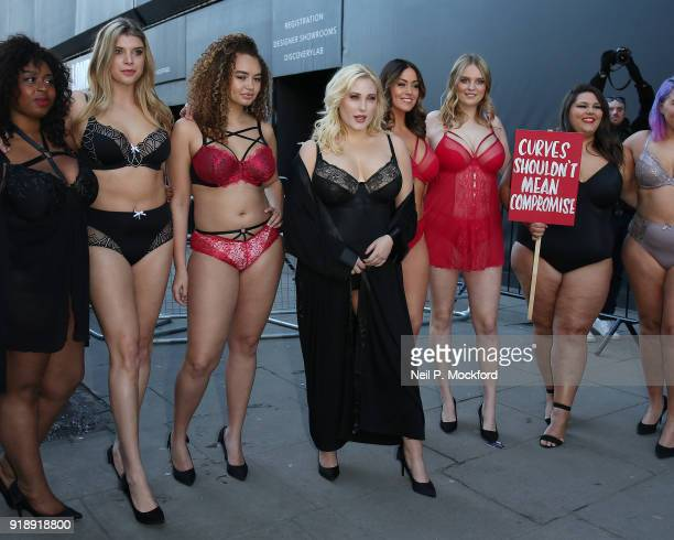Hayley Hasselhoff leads models diversity campaigners and social media influencers question the lack of curves in the female fashion industry outside...