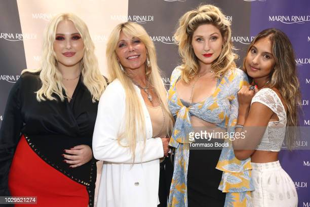 Hayley Hasselhoff Pamela Bach Taylor Hasselhoff and Laju Choudhury attend the Marina Rinaldi By Fausto Puglisi Capsule Collection Launch at Marina...