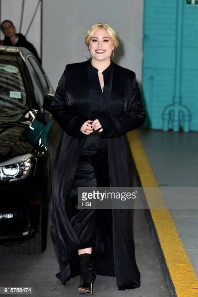 Hayley Hasselhoff seen at the ITV Studios on February 8 2018 in London England