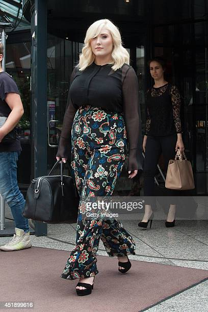 Hayley Hasselhoff sighted on July 9 2014 in Berlin Germany