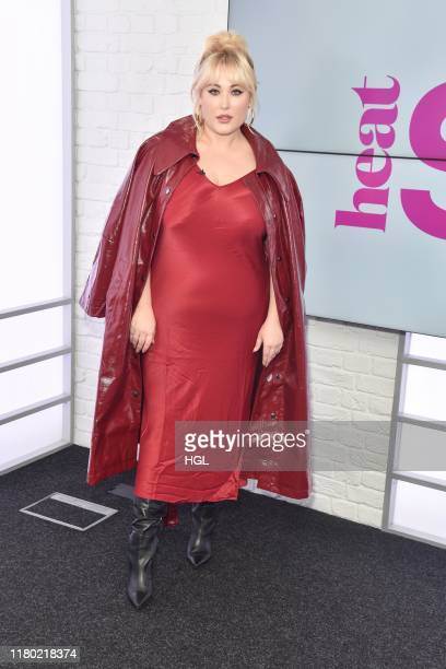 Hayley Hasselhoff visits Heat Style at Bauer Radio on October 10 2019 in London England