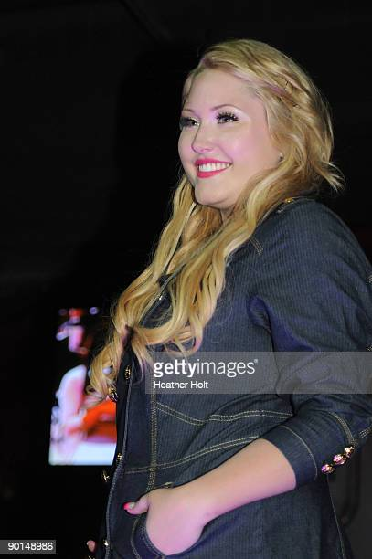 Hayley Hasselhoff walks the catwalk at the Celebrity Catwalk's 9th Annual Fashion Show on August 27 2009 in Los Angeles California