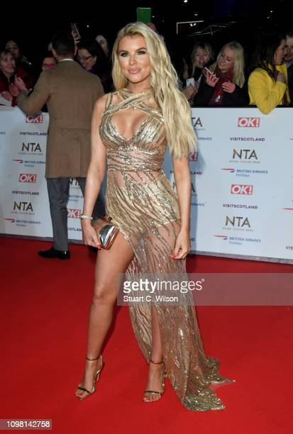 Hayley Hughes attends the National Television Awards held at the O2 Arena on January 22 2019 in London England
