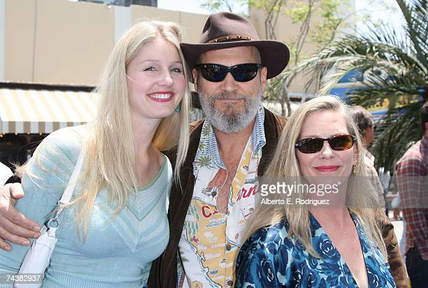 Hayley Jeff and Susan Bridges arrive at the Sony Pictures premiere of ''Surfs Up'' on June 2 2007 in Los Angeles California