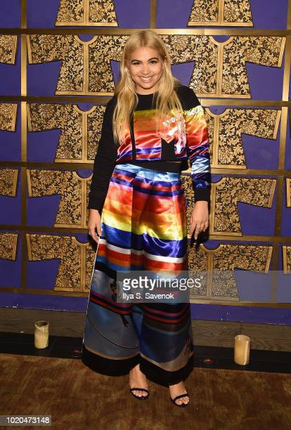 Hayley Kiyoko attends Atlantic Records celebrates the 2018 VMA's on August 20 2018 at TAO Downtown in New York City