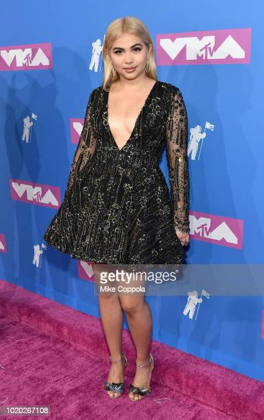 Hayley Kiyoko attends the 2018 MTV Video Music Awards at Radio City Music Hall on August 20 2018 in New York City