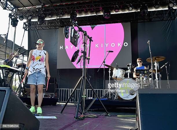 Hayley Kiyoko performs onstage during the 2016 Billboard Hot 100 Festival Day 1 at Nikon at Jones Beach Theater on August 20 2016 in Wantagh New York