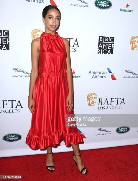 Hayley Law arrives at the BAFTA Los Angeles BBC America TV Tea Party 2019 at The Beverly Hilton Hotel on September 21 2019 in Beverly Hills California