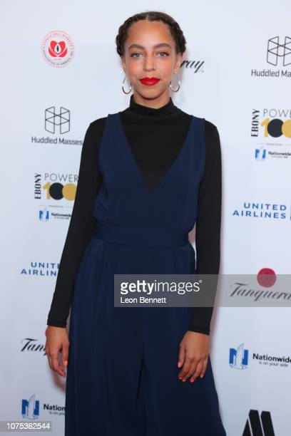 Hayley Law attends Ebony Magazine's Ebony's Power 100 Gala at The Beverly Hilton Hotel on November 30 2018 in Beverly Hills California