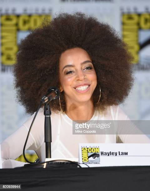 Hayley Law attends 'Riverdale' special video presentation and QA during ComicCon International 2017 at San Diego Convention Center on July 22 2017 in...