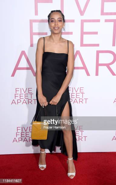 Hayley Law attends the Premiere Of Lionsgate's Five Feet Apart at Fox Bruin Theatre on March 07 2019 in Los Angeles California