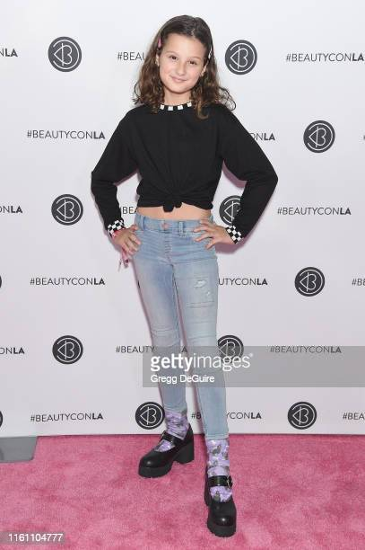 Hayley LeBlanc attends Beautycon Los Angeles 2019 Day 2 Pink Carpet at Los Angeles Convention Center on August 11, 2019 in Los Angeles, California.