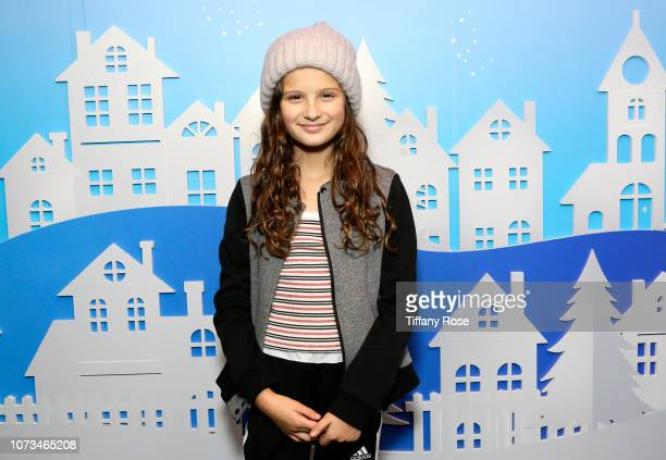 Hayley LeBlanc attends Instagram's #Instaskate 2018 at LA Kings Holiday Ice LA Live on November 27 2018 in Los Angeles California