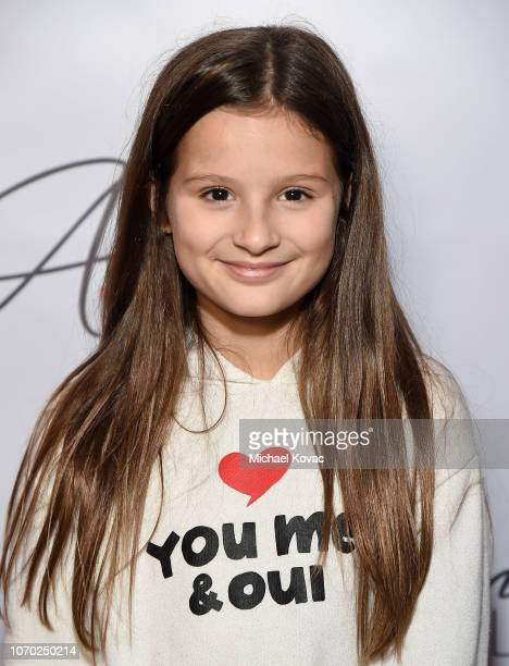 Hayley LeBlanc attends the Annie LeBling presents Annie LeBlanc Performance & Pop Up Shop on December 8, 2018 in Los Angeles, California.