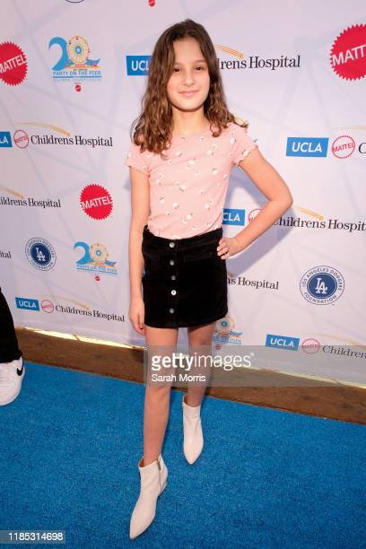 """Hayley LeBlanc attends UCLA Mattel Children's Hospital's 20th Annual """"Party on the Pier"""" at Pacific Park – Santa Monica Pier on November 03, 2019 in..."""