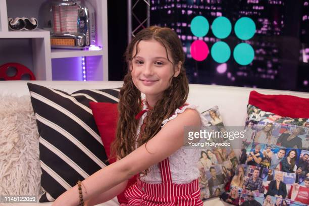 Hayley LeBlanc visits the Young Hollywood Studio on April 25, 2019 in Los Angeles, California.
