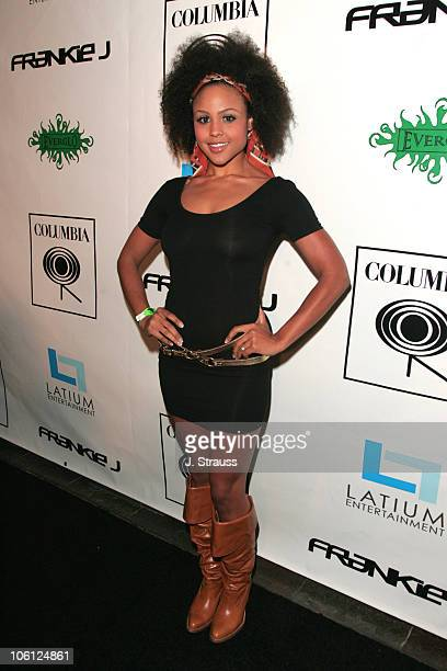 Hayley Marie Norman during Frankie J Album Release Party for His New Album Priceless at Element in Hollywood California United States