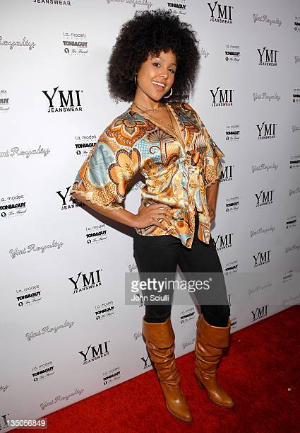 Hayley Marie Norman during YMI Jeans Fashion Show and Party in Los Angeles California United States