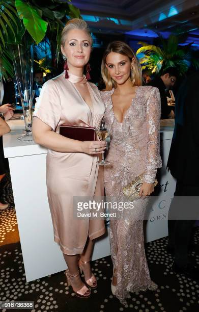 Hayley McQueen and Sophie Hermann attend the Newport Beach Film Festival UK Honours in association with Visit Newport Beach at The Rosewood Hotel on...
