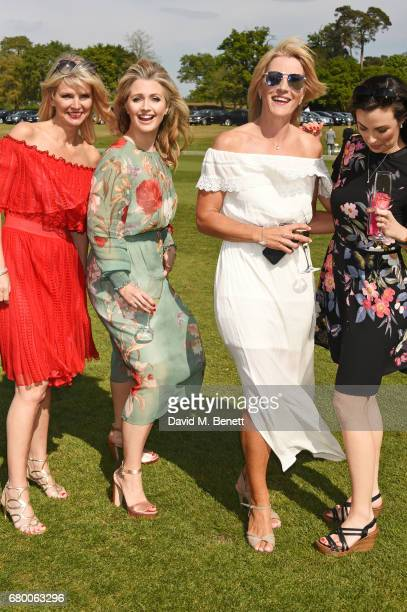 Hayley McQueen attends the Audi Polo Challenge at Coworth Park on May 7 2017 in Ascot United Kingdom