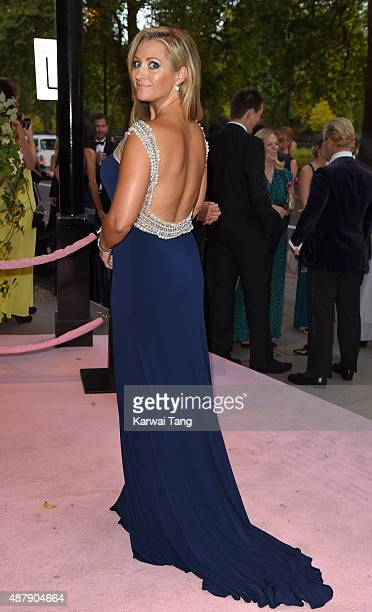 Hayley McQueen attends the Boodles Boxing Ball at The Grosvenor House Hotel on September 12 2015 in London England