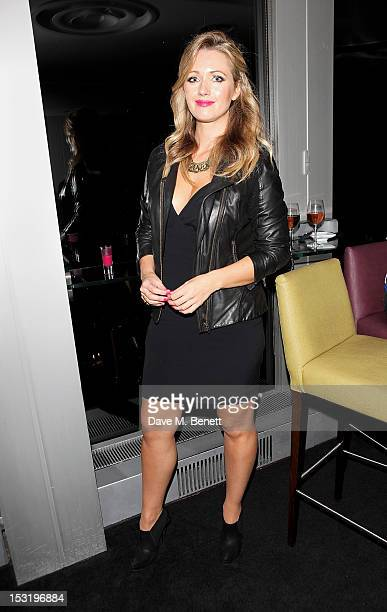 Hayley McQueen attends the Breast Cancer Campaign 'Action' Month launch party at Vertigo 42 on October 1 2012 in London England