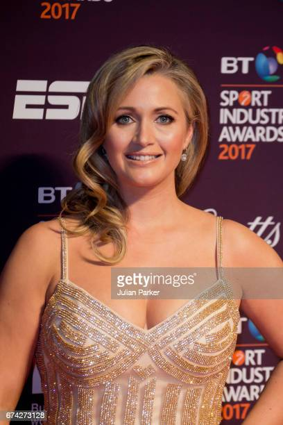 Hayley McQueen attends the BT Sport Industry Awards at Battersea Evolution on April 27 2017 in London England