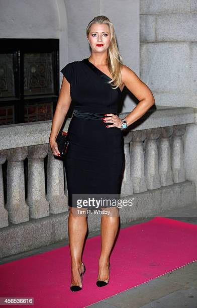 Hayley McQueen attends the Inspiration Awards for Women at Cadogan Hall on October 2 2014 in London England
