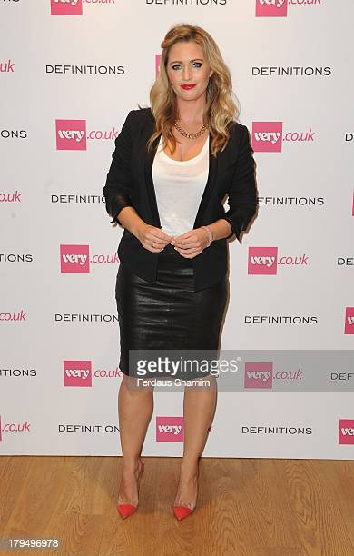 Hayley McQueen attends the launch party of verycouk's Definitions range at Somerset House on September 4 2013 in London England