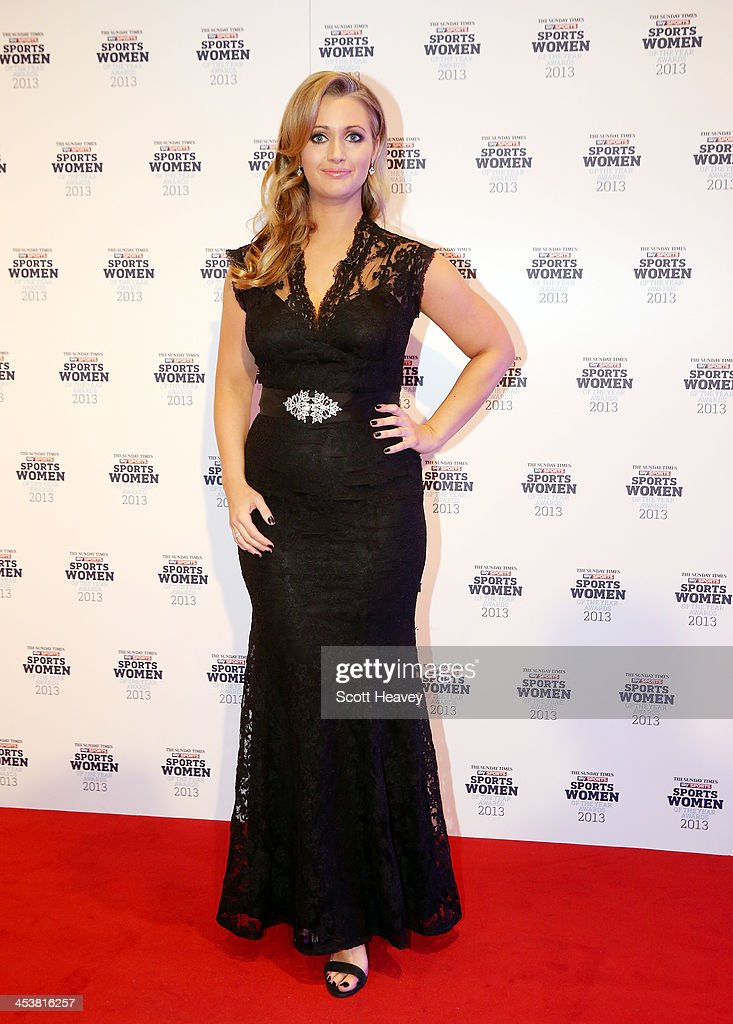 Hayley McQueen attends The Sunday Times & Sky Sports Sportswomen of the Year awards at Sky on December 5, 2013 in Isleworth, England.