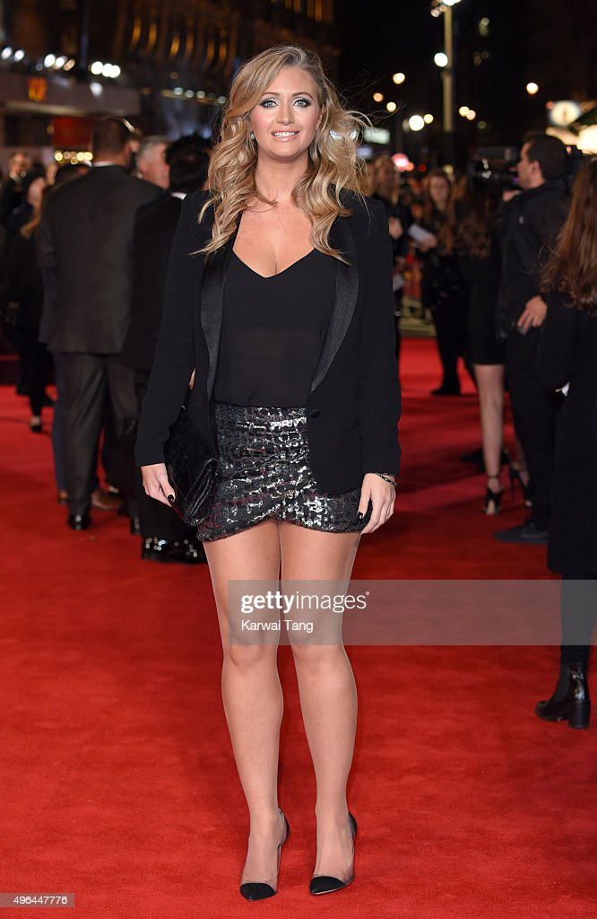 Hayley McQueen attends the World Premiere of 'Ronaldo' at Vue West End on November 9, 2015 in London, England.
