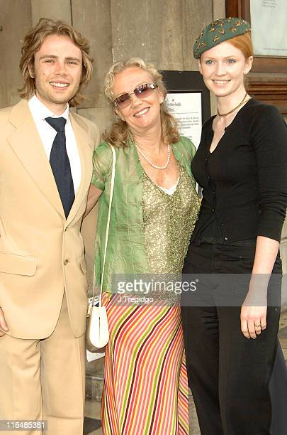 Hayley Mills and Family during Sir John Mills Memorial Service at St Martin in the Fields in London Great Britain