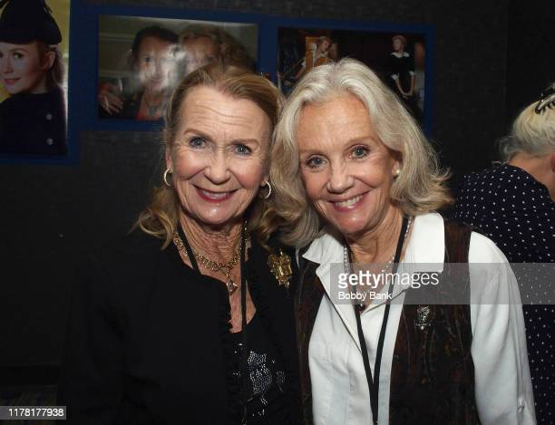 Hayley Mills and Juliet Mills attends the Chiller Theatre Expo Fall 2019 at Parsippany Hilton on October 25 2019 in Parsippany New Jersey