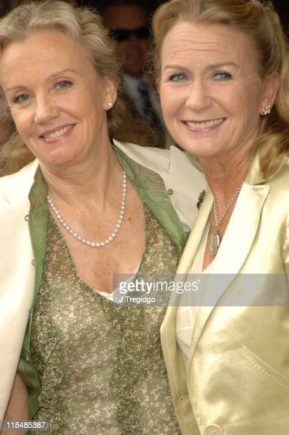 Hayley Mills and Juliet Mills during Sir John Mills Memorial Service at St Martin in the Fields in London Great Britain