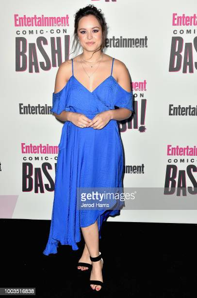 Hayley Orrantia attends Entertainment Weekly's Comic-Con Bash held at FLOAT, Hard Rock Hotel San Diego on July 21, 2018 in San Diego, California...