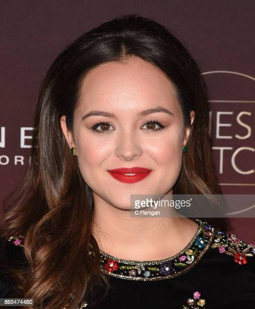Hayley Orrantia attends People's 'Ones to Watch' at NeueHouse Hollywood on October 4 2017 in Los Angeles California