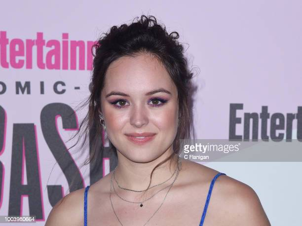 Hayley Orrantia attends the annual Entertainment Weekly ComicCon Celebration at Float at Hard Rock Hotel San Diego on July 21 2018 in San Diego...