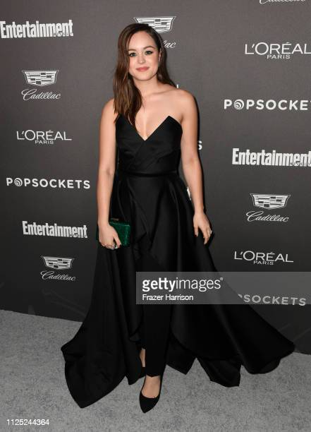 Hayley Orrantia attends the Entertainment Weekly PreSAG Party at Chateau Marmont on January 26 2019 in Los Angeles California
