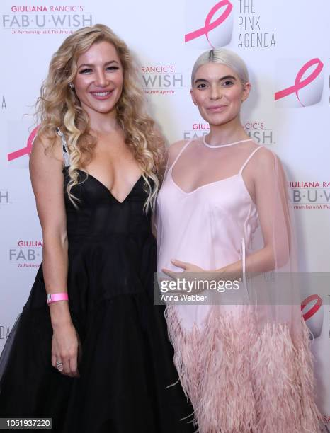 Hayley Paige and Carly Cardellino attend The Pink Agenda's Annual Gala at Tribeca Rooftop on October 11 2018 in New York City