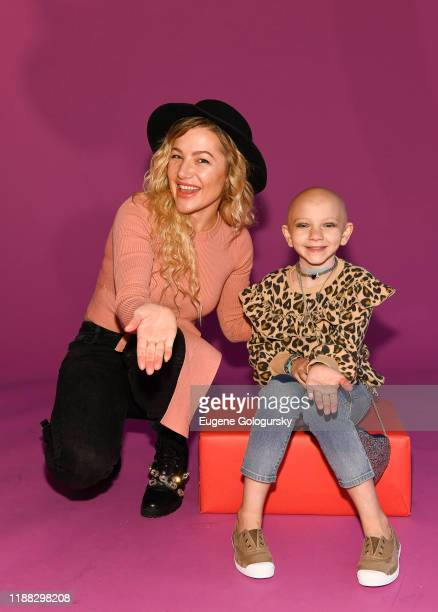 Hayley Paige and participant attend the Runway Heroes To Benefit Childhood Cancer Research at Glasshouse Chelsea on November 17 2019 in New York City