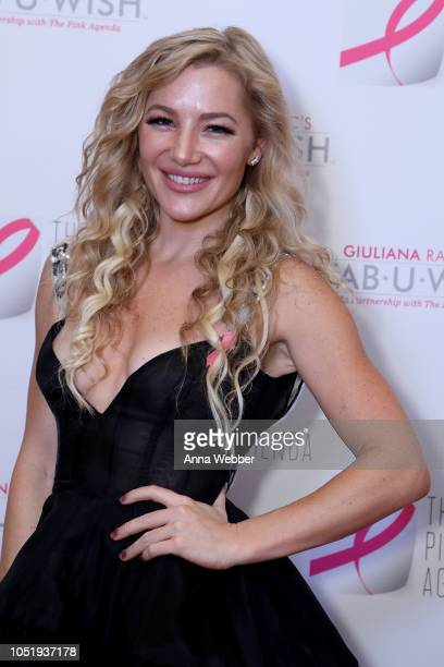 Hayley Paige attends The Pink Agenda's Annual Gala at Tribeca Rooftop on October 11 2018 in New York City