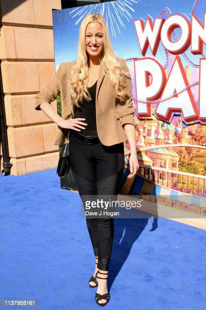 Hayley Palmer attends the UK Gala screening of WONDER PARK at Vue Leicester Square on March 24 2019 in London England
