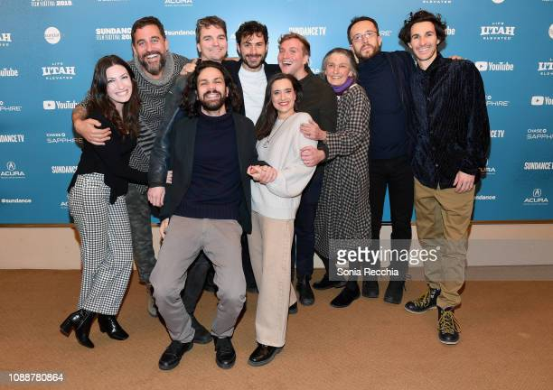 Hayley Pappas Bryn Mooser Beniamino Barrese Harry Vaughn Benedetta Barzini Filippo Macelloni and Matt Ippolito attend the The Disappearance Of My...