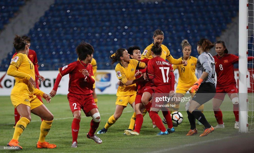 Vietnam v Australia - AFC Women's Asian Cup Group B : News Photo