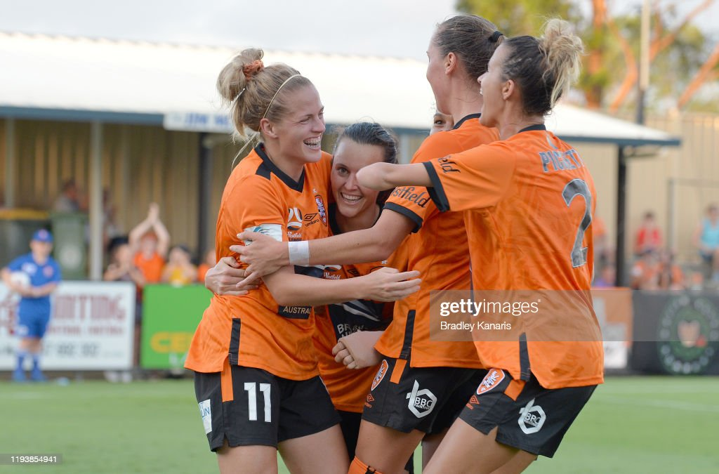W-League Rd 5 - Brisbane v Adelaide : News Photo
