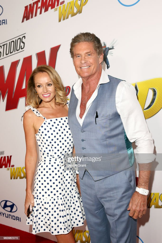 Los Angeles Global Premiere For Marvel Studios' 'Ant-Man And The Wasp' : News Photo